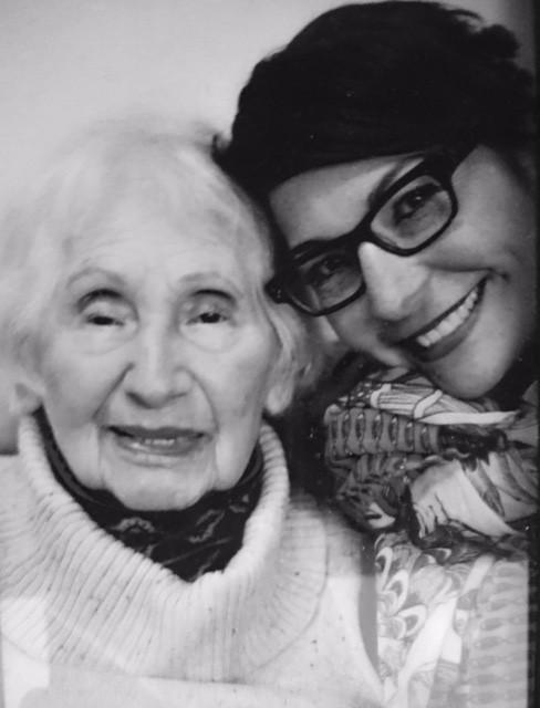 Cecilia and Abuelita Born in 1916, passed in 2017