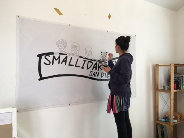 Preparing for Smallidarity event 2017