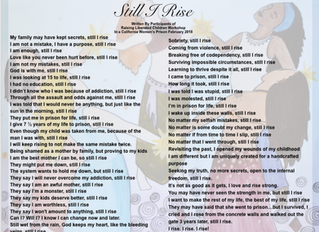 """Still I Rise: A Collective Poem Written By Participants of The """"Raising Liberated Children"""" Workshop"""