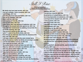 "Still I Rise: A Collective Poem Written By Participants of The ""Raising Liberated Children"" Workshop"