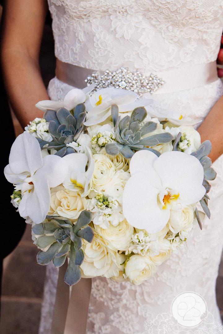 Beautiful custom succulent bouquet