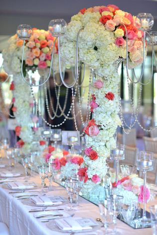Extravagant wedding decor by Angelic Grove