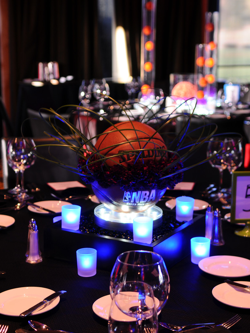Cool custom centerpieces for special event