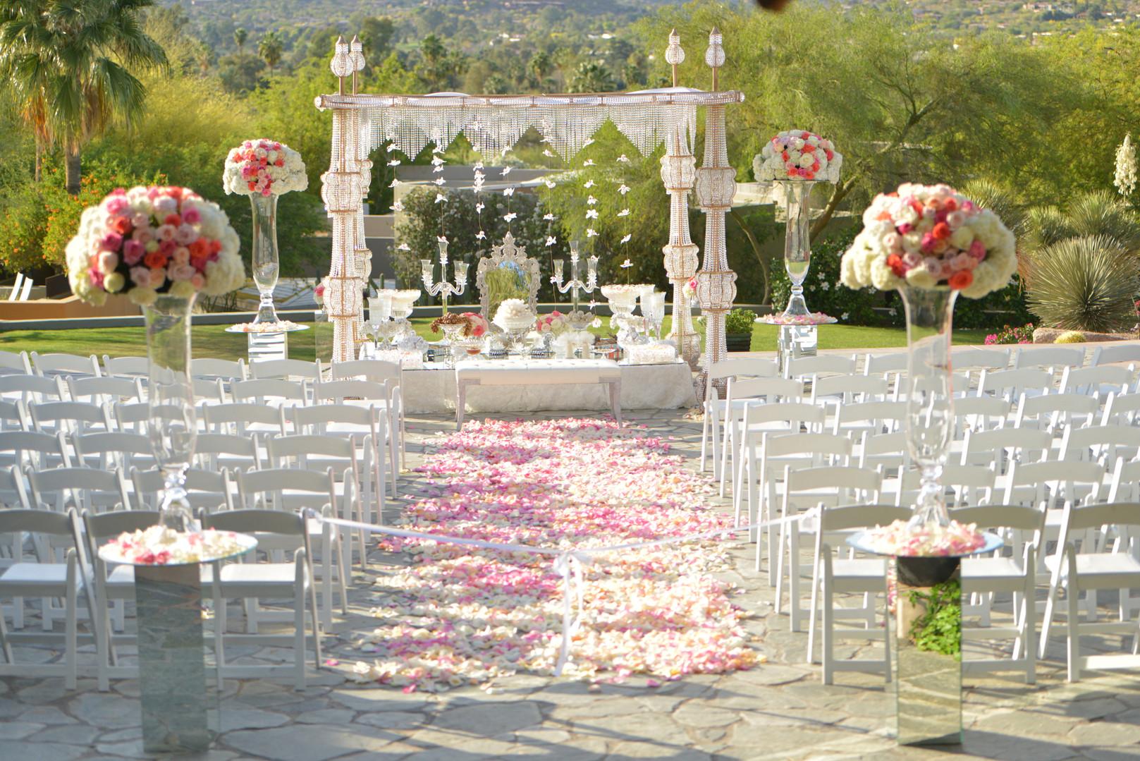 The Sanctuary Ceremony Decor