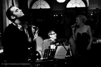 Singing with Jeff Goldblum and The Mildred Snitzer Orchestra