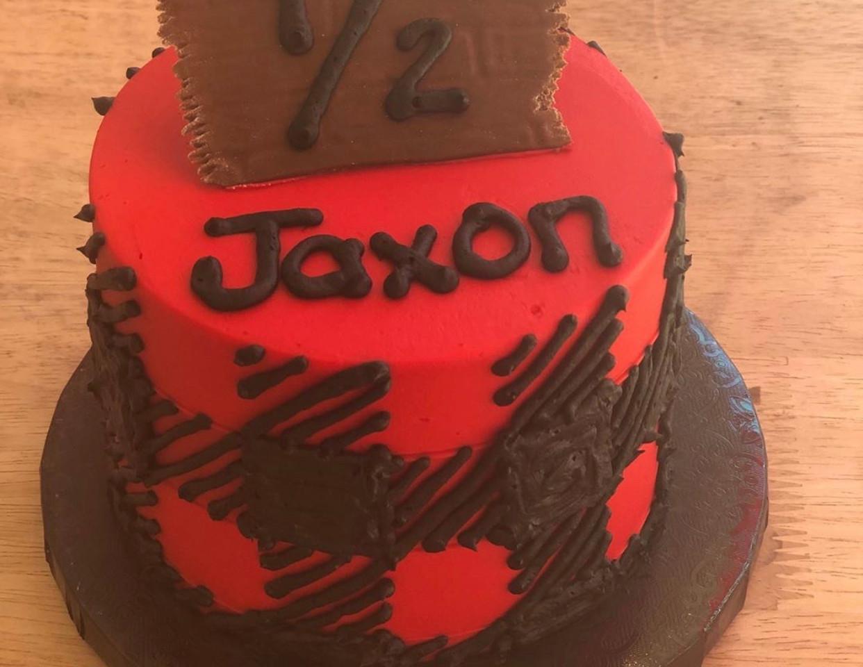 1/2 birthday smash cake