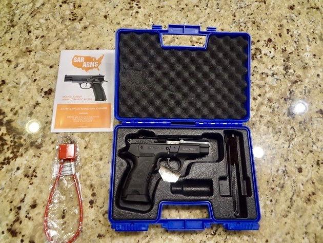 "EAA SAR B6P SARB6P Sarsilmaz 9mm WARRANTY! 3 8"" | hardysguns"