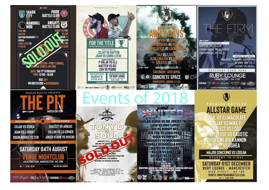 Events of 2018