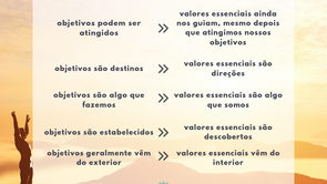 Objetivos e Valores