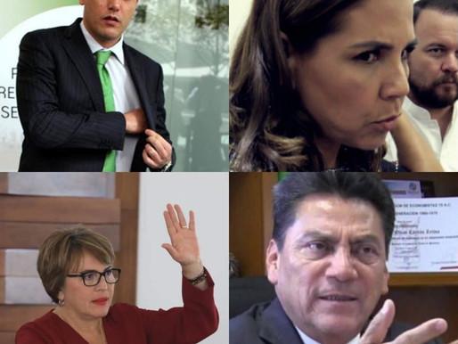 VENTA DE CANDIDATURAS AL MEJOR POSTOR, LOS VIP MARA LEZAMA Y LAURA BERISTAIN.