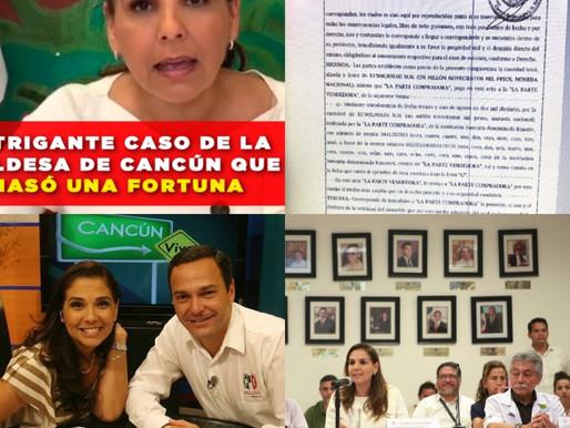 EL INTRIGANTE CASO DE LA ALCALDESA DE CANCÚN QUE AMASÓ UNA FORTUNA.