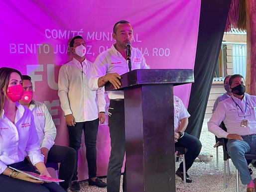 *TOMA PROTESTA COMITÉ DIRECTIVO MUNICIPAL DE FUERZA POR MÉXICO EN BJ*