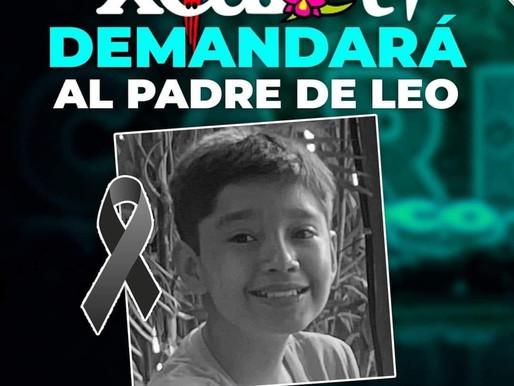 NO HAY JUSTICIA, Y AHORA DEMANDARÁN AL PADRE DE LEO.