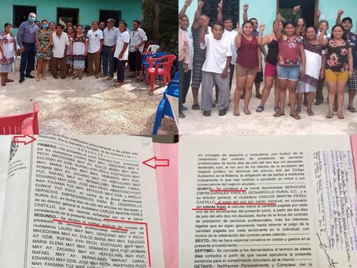 GANAN MAYAS DE TULUM JUICIO CONTRA DEFRAUDADOR.