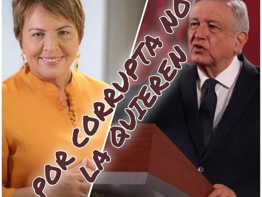 PIDE AMLO PROCEDER CONTRA PRESUNTA CORRUPCIÓN DE LAURA BERISTAIN.