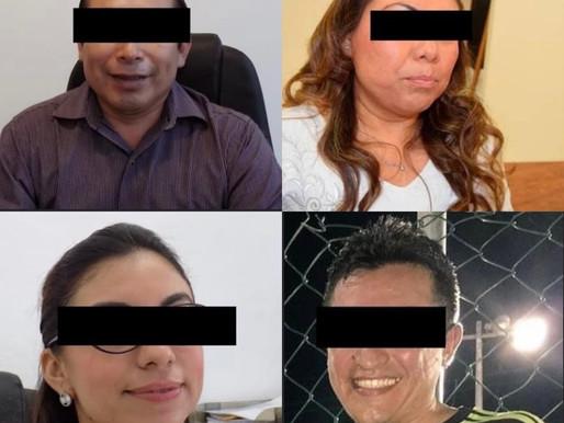 A PROCESO EX EDIL DE TULUM Y TRES EX FUNCIONARIOS DE SU ADMINISTRACIÓN.