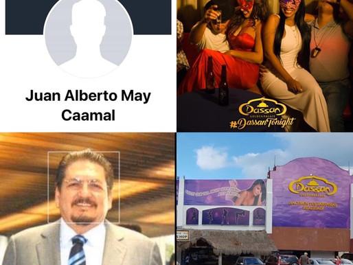 SE DESTAPAN MAS CLOACAS DEL CASO ISIDRO SANTAMARIA, SU CONTADOR JUAN ALBERTO MAY CAAMAL. IMPLICADO.