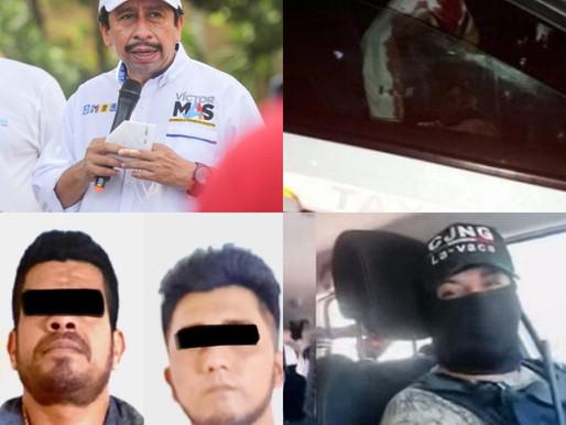 VÍCTOR MAS ENTREGO INFORMACIÓN SENSIBLE A LOS CRIMINALES. LE URGE SEGUIR TENIENDO FUERO.
