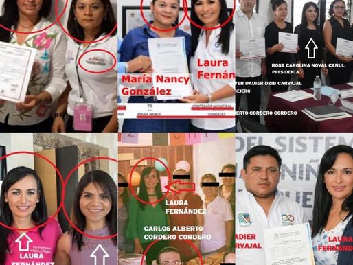 LAURA FERNANDEZ PIÑA Y SUS 40 LADRONES.
