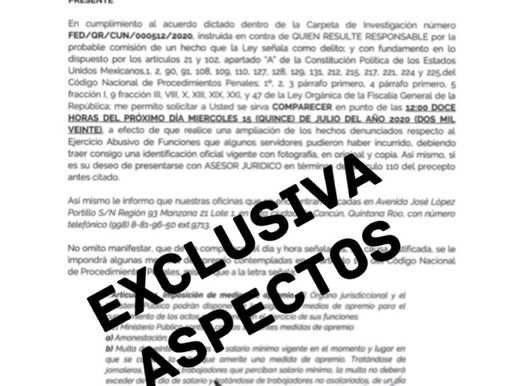 EXCLUSIVA MARA LEZAMA NO PUEDE REELEGIRSE POR MORENA, TIENE DENUNCIA EN FGR.