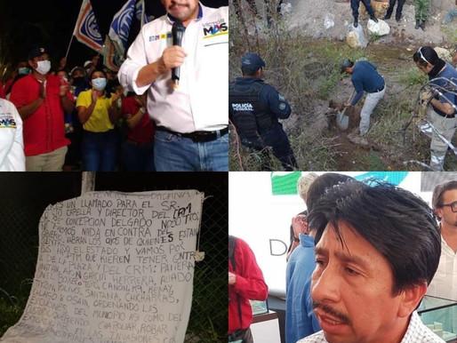 VOTAR POR VICTOR MAS ES VOTAR POR EL NARCOTRAFICO.