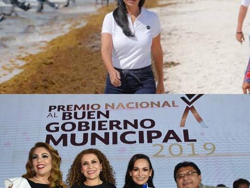 ALCALDESA DE PUERTO MORELOS, LAURA FERNÁNDEZ, SUMIDA EN EL LODO DE LA OPACIDAD Y LA CORRUPCIÓN.