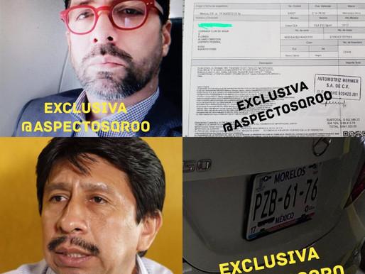 SIGUEN DENUNCIAS CONTRA JORGE L. BRIZUELA GUEVARA. AHORA POR ROBO DE VEHÍCULO Y ABUSO DE CONFIANZA.