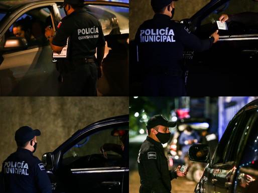 POLICIA QUINTANA ROO, PARA SALVAGUARDAR LA INTEGRIDAD DE LA POBLACIÓN.