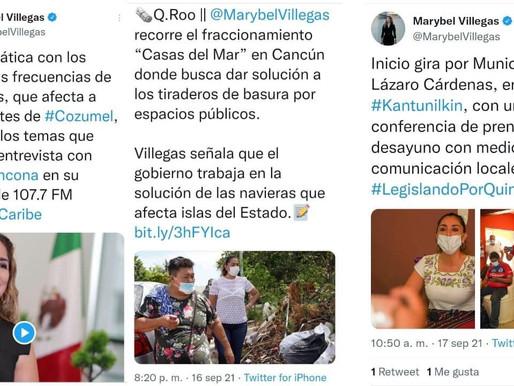 """MARYBEL CON PROMESAS """"REFRITAS"""" Y ENGAÑOS, PRETENDE GANAR ADEPTOS"""
