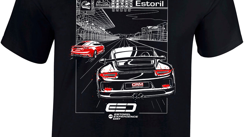 "T-shirt ""Estoril Experience Day"" Black"