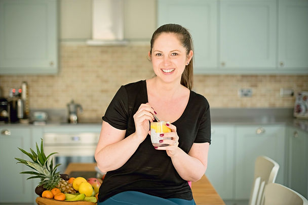 Louise Goulding Nutritionist chia pudding mango