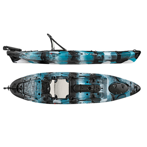 Vibe seaghost 110 fishing kayaks hunting gear music for Vibe fishing kayak