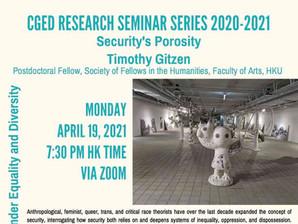 April 19: Timothy Gitzen – Security's Porosity