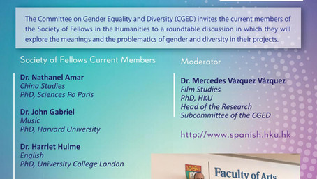 Roundtable on Research on Gender and Diversity – May 7