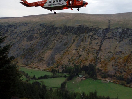Callout 36 - 23rd April 2019 - Glenmalure