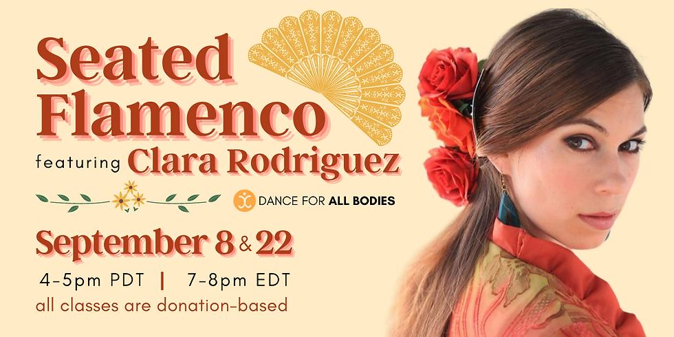 All Abilities Flamenco Class (Virtual)