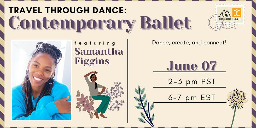 Travel Through Dance: Contemporary Ballet