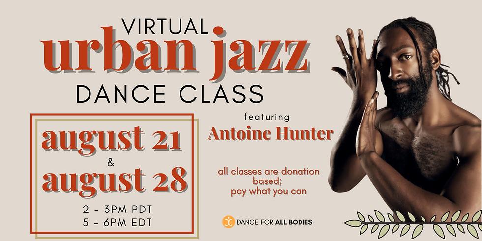 All Abilities Urban Jazz Dance Class (Virtual)