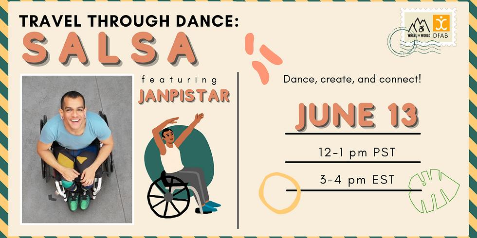 Travel Through Dance: Salsa Class