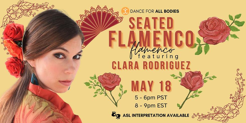 All Abilities Seated Flamenco Class