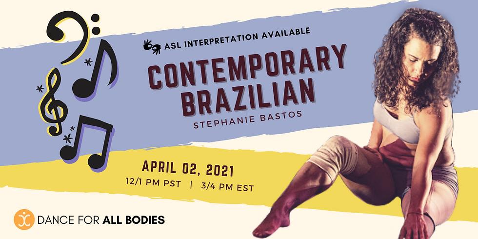 All Abilities Contemporary Brazilian Class