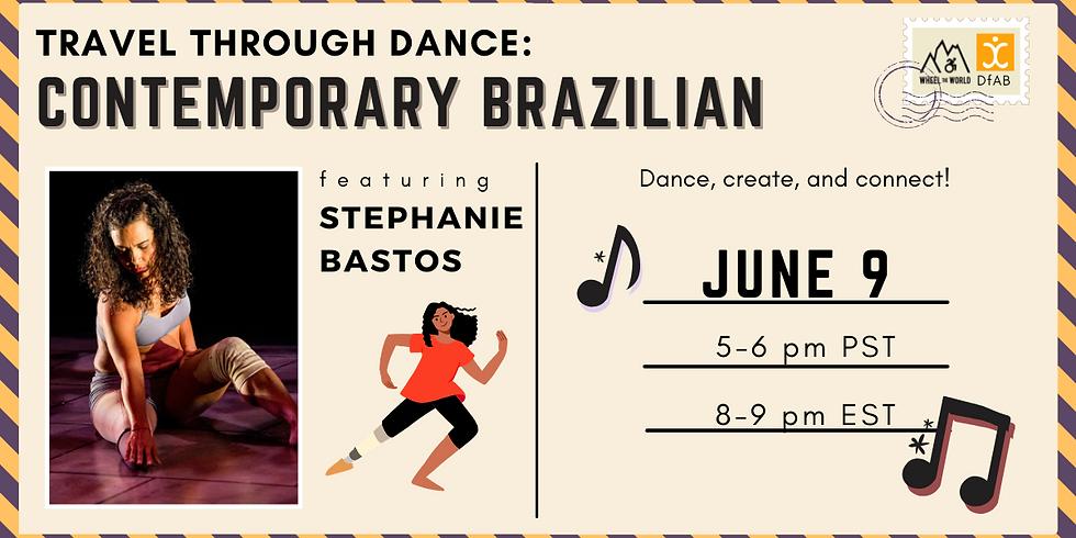 Travel Through Dance: Brazilian-Contemporary