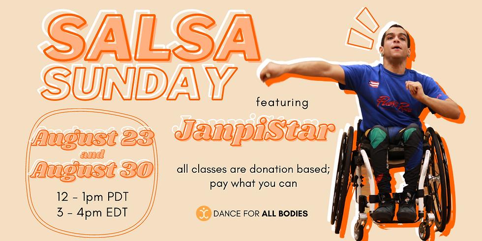 All Abilities Salsa Class (Virtual)