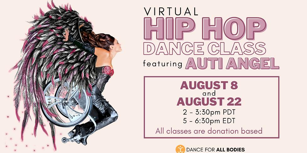 Hip Hop Class with Auti Angel (Virtual)