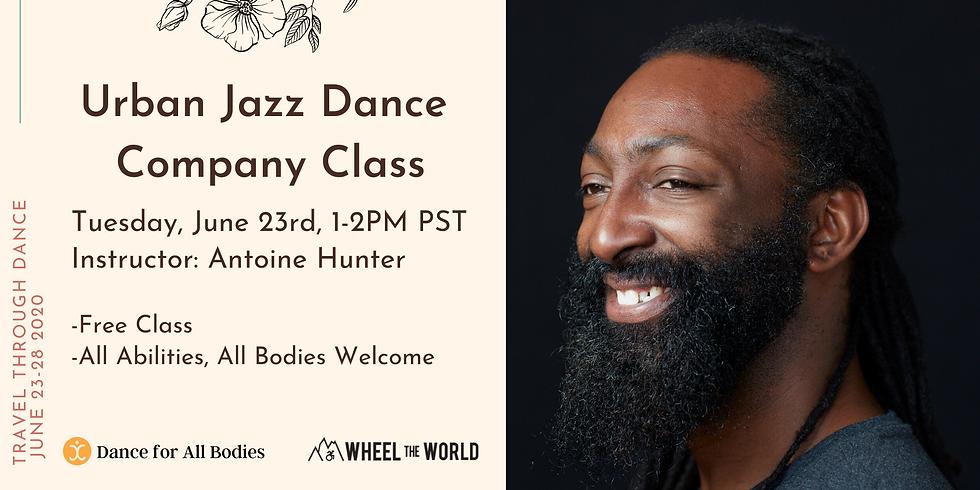 Urban Jazz Dance Company Class