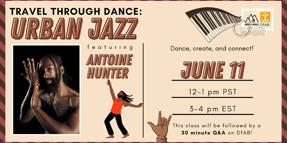 Travel Through Dance: Urban Jazz