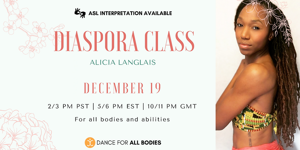 All Abilities Diaspora Class