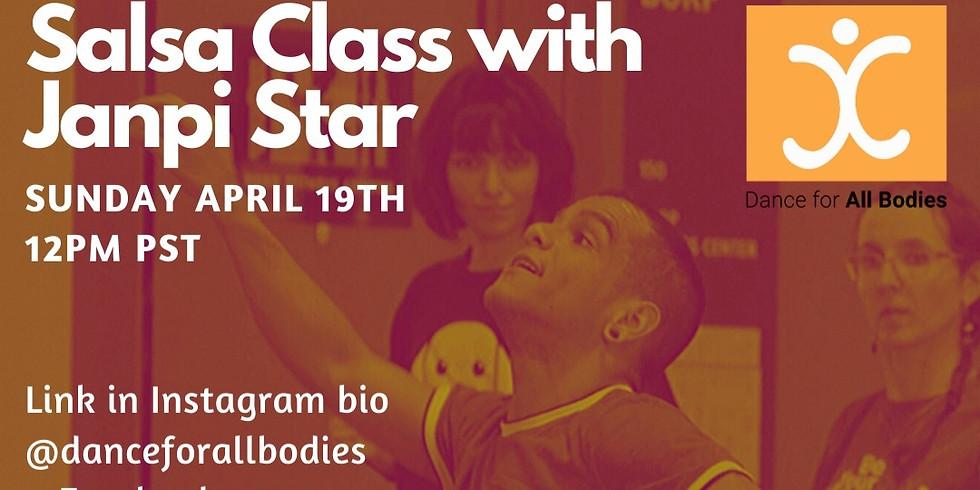Virtual Salsa Class with JanpiStar!