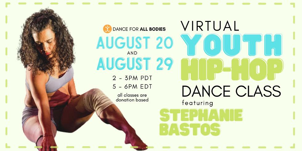All Abilities Youth Hip Hop Dance Class (Virtual)