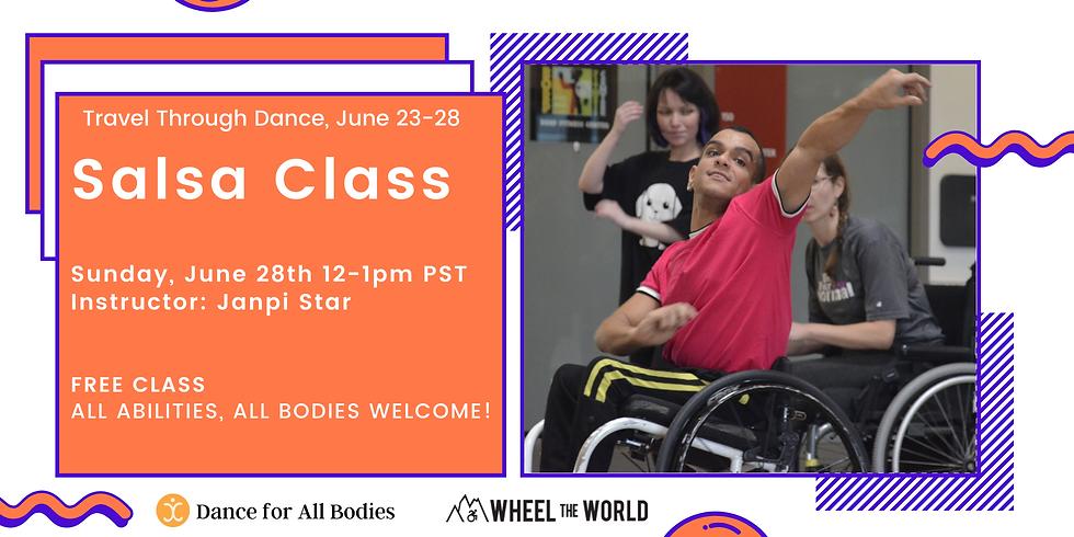 Virtual Salsa Class for All Abilities